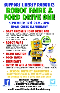 Robot Faire & Drive One Info